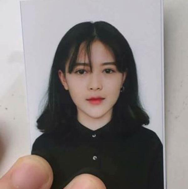 Bức ảnh thẻ được nhiều người chia sẻ của nữ sinh Mai Phương