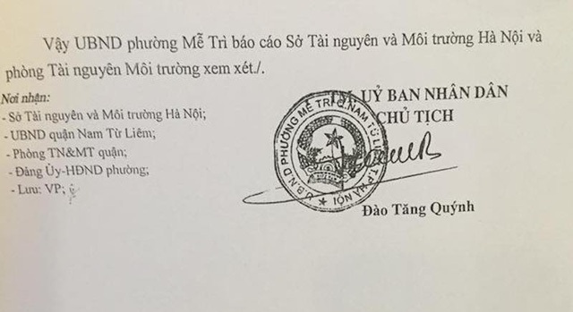 Phường đề nghị cấp sổ đỏ và giấy xác nhận đăng ký đất đai cho các hộ dân.