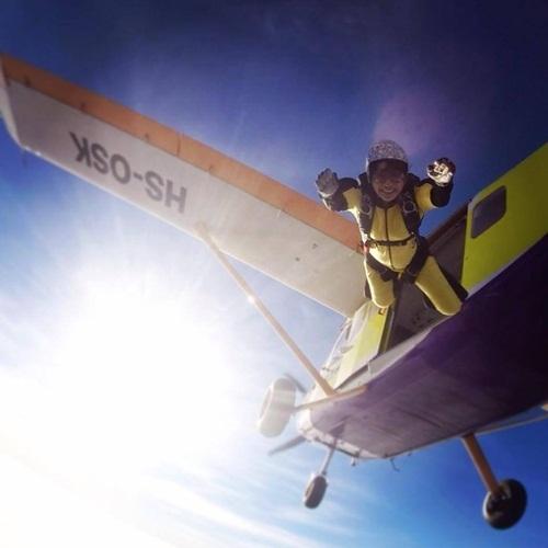 Cuộc sống phiêu lưu mạo hiểm, đầy màu sắc của cô gái 9X khiến nhiều người ngưỡng mộ.