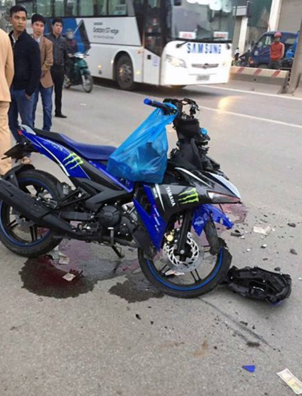 Hiện trường vụ tai nạn khiến 2 phượt thủ tử vong ngày 8/1