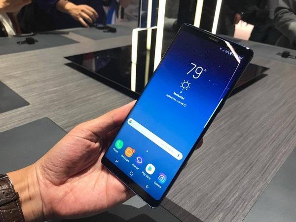 Samsung không cần tăng dung lượng pin Galaxy Note8 vì tự tin rằng thỏi pin trên sản phẩm đã đủ để đáp ứng nhu cầu người dùng