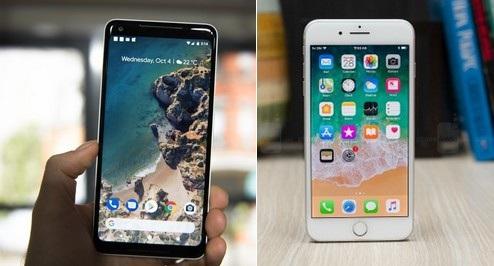 Pixel 2 XL và iPhone 8 Plus là hai trong số những smartphone cao cấp và mạnh mẽ nhất hiện nay