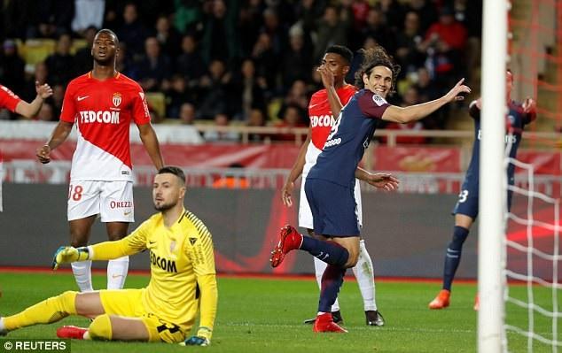 PSG đã hạ gục Monaco ngay trên sân khách