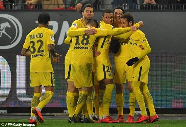 PSG đại thắng Rennes với tỷ số 4-1