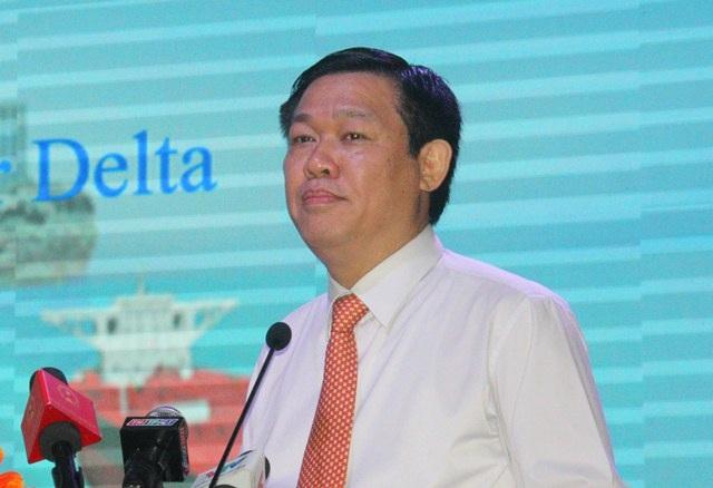 Ủy viên Bộ Chính trị - Phó Thủ tướng Vương Đình Huệ - Trưởng ban chỉ đạo Tây Nam Bộ phát biểu tại Hội nghị sáng nay (9/1).