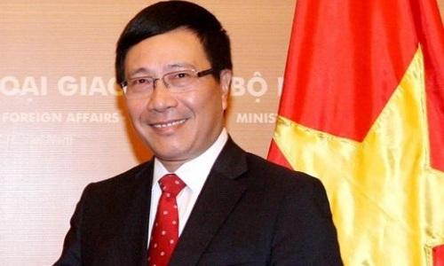 Ủy viên Bộ Chính trị, Phó Thủ tướng Chính phủ Phạm Bình Minh (ảnh: Chinhphu.vn)