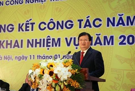 Phó Thủ tướng Trịnh Đình Dũng chỉ đạo tại hội nghị (ảnh: VGP)
