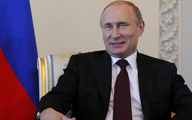 Tổng thống Nga Vladimir Putin. (Ảnh: AFP)