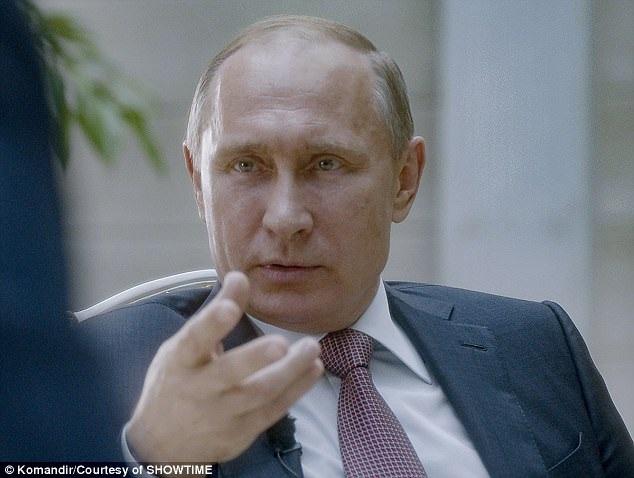 Tổng thống Nga Vladimir Putin. (Ảnh: Showtime)
