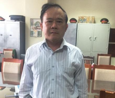 Bị can Nguyễn Thanh Liêm.
