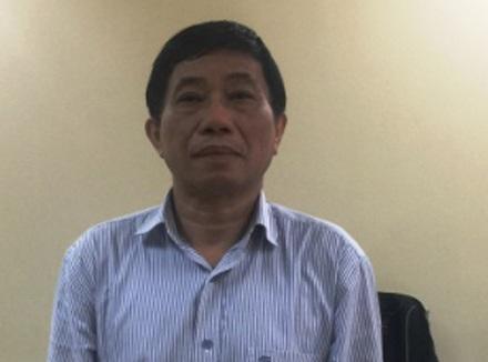 Ninh Văn Quỳnh, cựu Kế toàn trưởng, đương kim Phó tổng PVN bị bắt giữ tại cơ quan điều tra.