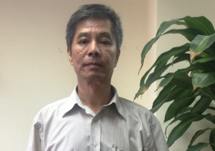 Bị can Vũ Khánh Trường.