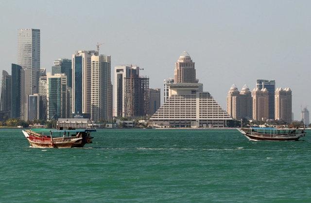 Các tòa nhà cao tầng tại Doha, Qatar (Ảnh: Reuters)
