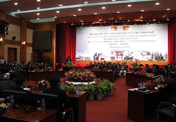 5 tỉnh thành tham gia hội nghị hành lang kinh tế đều thống nhất tập trung đầu tư hệ thống cơ sở hạ tầng giao thông (ảnh Cổng TTĐT)