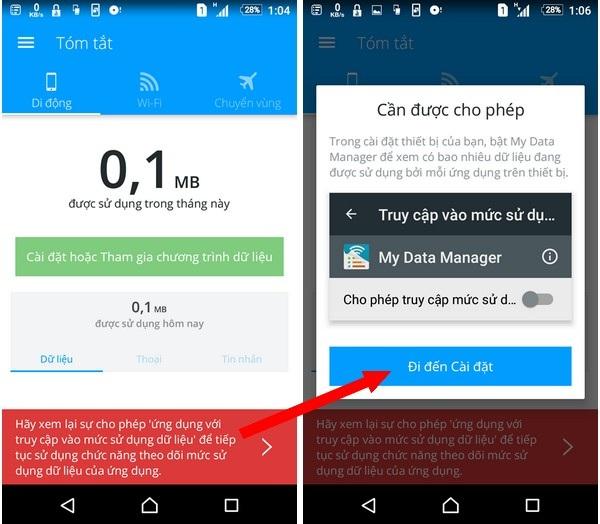 Ứng dụng giúp quản lý dung lượng 3G đã sử dụng trên smartphone - 2