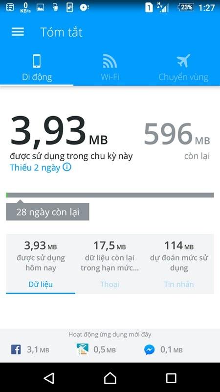 Ứng dụng giúp quản lý dung lượng 3G đã sử dụng trên smartphone - 8