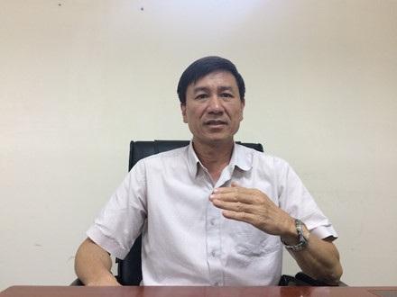 Ông Lê Đình Quảng - Phó Trưởng ban Quan hệ Lao động - Tổng LĐLĐVN trao đổi với PV Báo Lao Động.