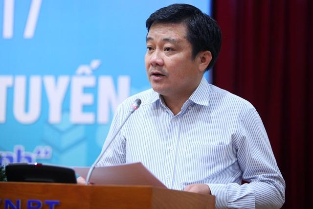 Ông Huỳnh Quang Liêm - Phó Tổng giám đốc VNPT.