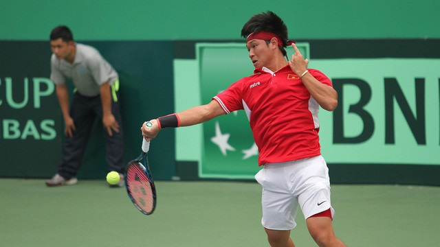 Đội tuyển quần vợt nam Việt Nam thất bại tại Davis Cup