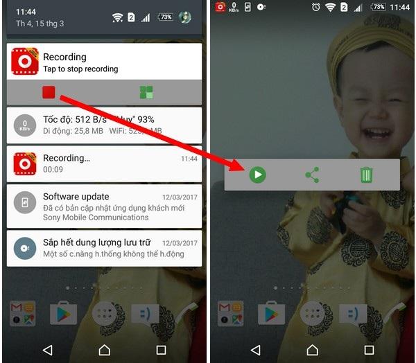 Dễ dàng ghi lại hoạt động trên màn hình smartphone với ứng dụng miễn phí - 3