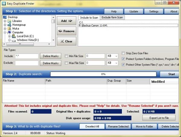 Tìm và loại bỏ file trùng lặp giúp khôi phục dung lượng ổ cứng bị lãng phí - 1