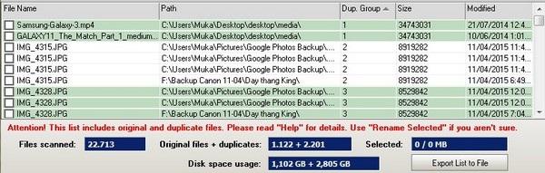 Tìm và loại bỏ file trùng lặp giúp khôi phục dung lượng ổ cứng bị lãng phí - 3