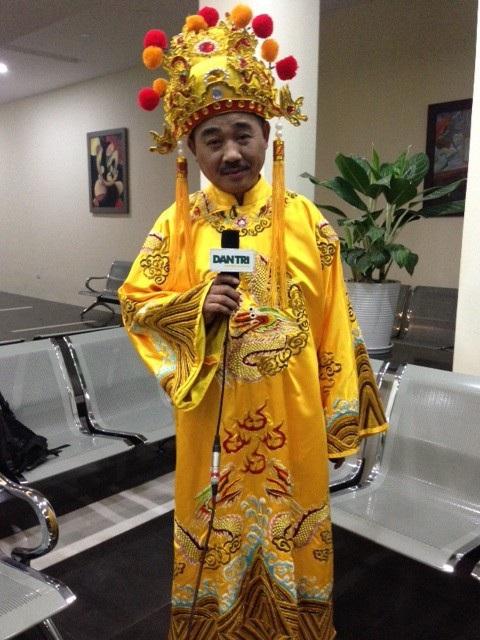 NSƯT Quốc Khánh khẳng định rằng, nếu năm nay anh không được đạo diễn mời đóng Ngọc Hoàng thì anh vẫn sẵn sàng đóng Táo hoặc một vai nào đó.