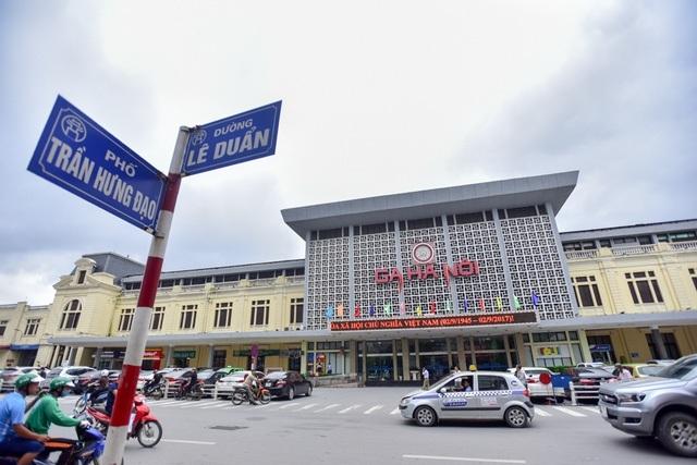 Hiện trạng ga Hà Nội (ảnh: Toàn Vũ)