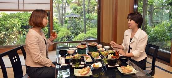 Những quy tắc trên bàn ăn của người Nhật - 1