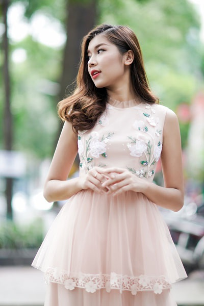 """Á quân The Face ngọt lịm sắc hồng pastel, hoa hậu Ngọc Diễm nóng """"bỏng mắt"""" - 5"""