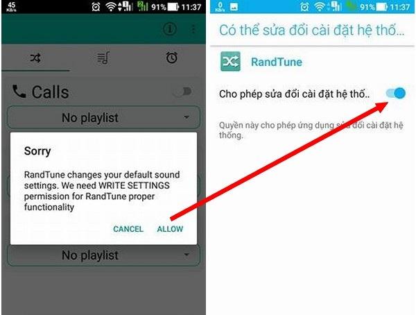 Thủ thuật tự động thay đổi nhạc chuông cuộc gọi hay tin nhắn đến trên smartphone - 1