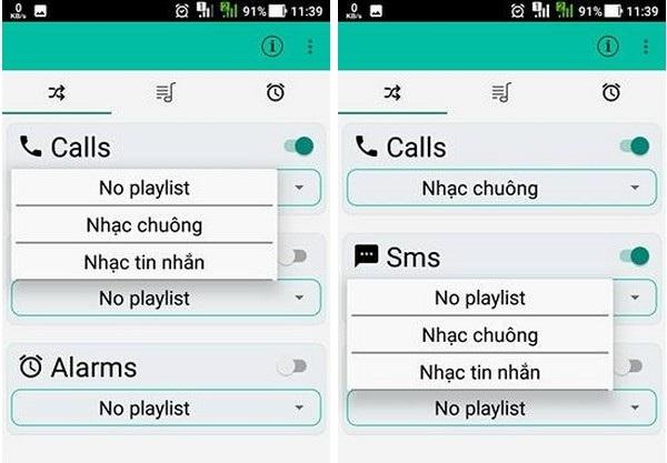 Thủ thuật tự động thay đổi nhạc chuông cuộc gọi hay tin nhắn đến trên smartphone - 5