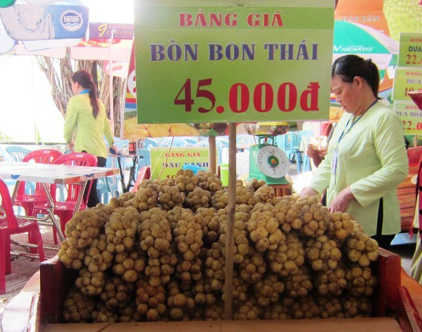 Rau quả Thái đang chiếm tỷ lệ nhập khẩu lớn nhất vào Việt Nam