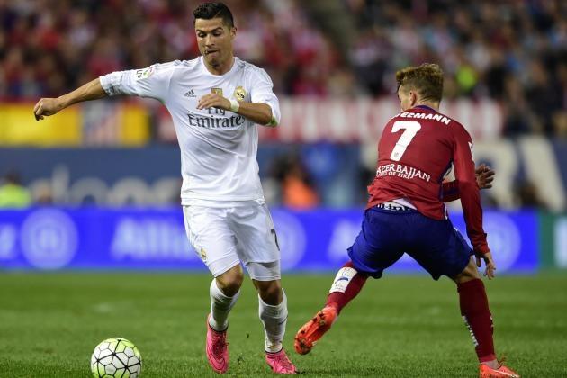 Real Madrid và Atletico Madrid tiếp tục song hành ở bán kết Champions League