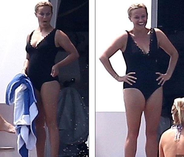 Reese Witherspoon đang đi nghỉ tại Long Island, New York cùng bạn bè thay vì chồng và các con.