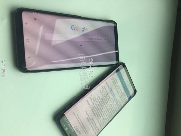 Hình ảnh thực tế bộ đôi Galaxy S8 và S8+
