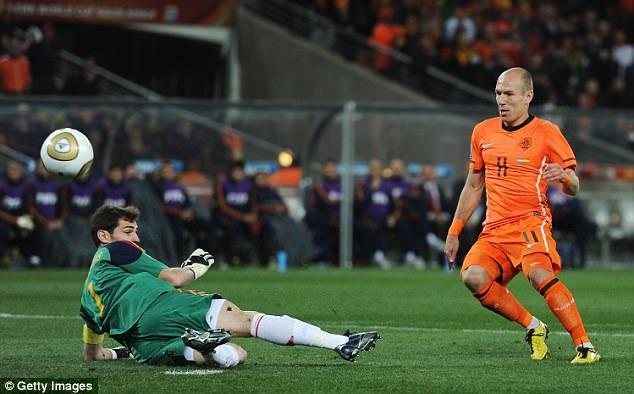 Robben đã có 14 năm cống hiến cho ĐTQG Hà Lan