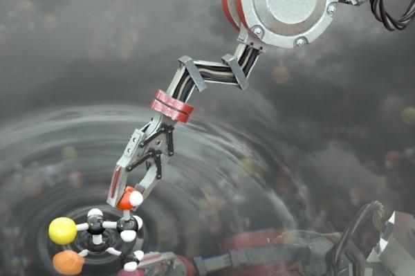 Robot đầu tiên trên thế giới có thể hình thành các phân tử - 1