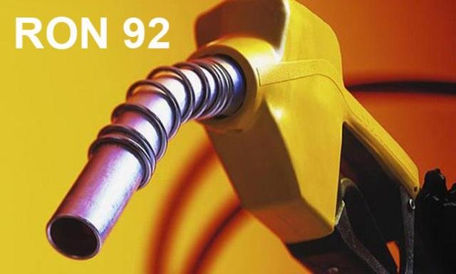 Xăng khoáng RON 92 đang được sử dụng phổ biến tại thời điểm hiện tại.
