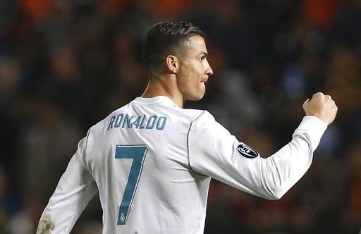 C.Ronaldo thi đấu rực sáng ở trận đấu với APOEL