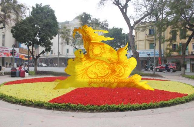 Đề xuất xây biểu tượng rùa vàng bên hồ Gươm không được thành phố chấp thuận