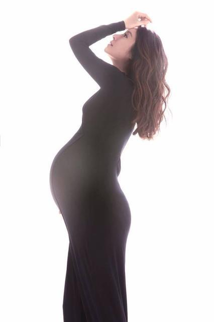 Lâm Tâm Như trong giai đoạn cuối thai kỳ. Cô không tăng cân nhiều trong giai đoạn mang thai nên về phom khá dễ dàng. Trong thời gian mang bầu, Lâm Tâm Như chỉ ngừng đóng phim nhưng vẫn đi du lịch và hoạt động bình thường.