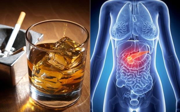 10 bệnh ung thư từ rượu mà ra - 1