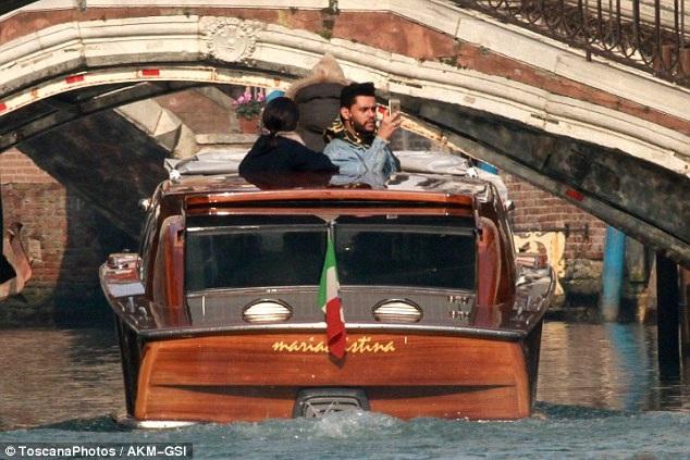 Selena Gomez và The Weeknd tới Ý du ngoạn từ cách đây ít ngày