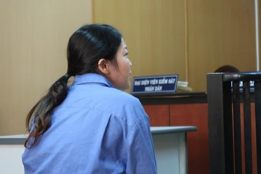 Bị cáo Sa tại phiên tòa.