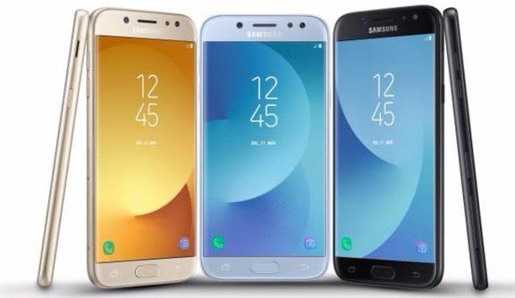 Bộ 3 Galaxy J của Samsung được nâng cấp về cấu hình và thay đổi thiết kế đẹp mắt hơn