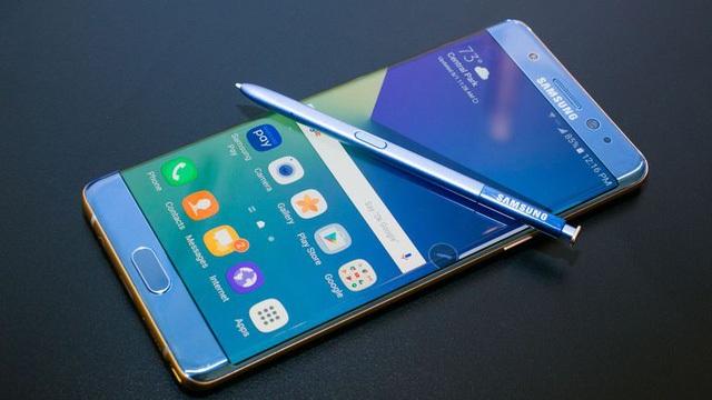 Galaxy Note7 từng là dòng sản phẩm thế mạnh của Samsung với thiết kế đột phá và lần đầu tiên xuất hiện màu xanh Coral Blue