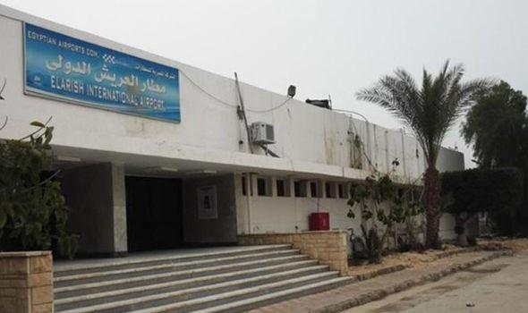Sân bay quốc tế El-Arish của Ai Cập (Ảnh: NC)