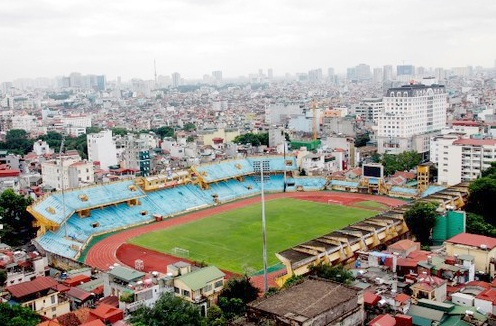 Sân vận động Hàng Đẫy sẽ được nâng cấp trong thời gian tới