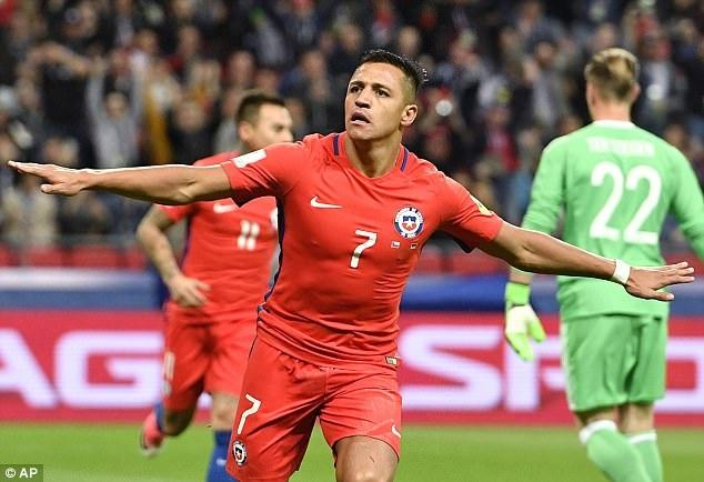 Sanchez thăng hoa nhưng Chile đã không thể tiếp tục thắng